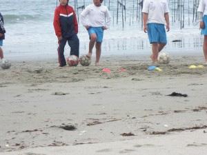 合宿プラン海辺トレーニング
